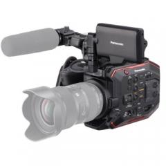 松下(Panasonic) AU-EVA1 摄像机 紧凑型电影级 4K 红外夜摄(含话筒)ZX.198