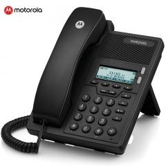 摩托罗拉(Motorola) IP100-2C IP网络电话机座机SIP电话机双网口 客服呼叫中心固定电话   IT.284