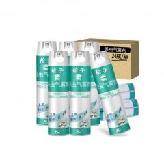 枪手 杀虫气雾剂 无味 600毫升 杀虫剂    24瓶/箱    QJ.169