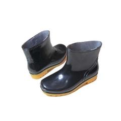 伟业一选 中筒雨靴 劳保靴子防水防汛雨鞋(鞋号请联系客服备注) JC.750