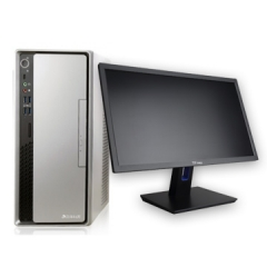 清华同方(THTF) 超越E500-64294 /i5-7400/B250N/8GB/1TB/2GB独显/DVDRW/台式整机3年全保加硬盘不返还/23.8英寸显示器/DOS PC.1409
