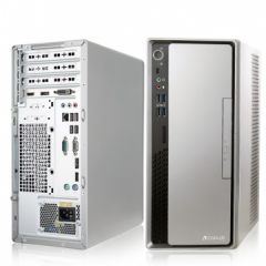 清华同方(THTF) 超越E500-64223 /i5-6500/B250N/8GB/128GB+1TB/集显/DVDRW/台式整机3年全保加硬盘不返还/单主机/DOS PC.1410