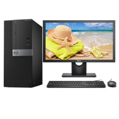 戴尔(DELL)OptiPlex 7050 Tower 006268 /i7-6700/Q270/8GB/1TB/独显4GB/DVDRW/保修年限三年/19.5英寸液晶显示器/Linux PC.1627