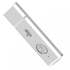 爱国者(aigo) U320 16G 高速U盘 USB3.0 金属亮银优盘 银色    PJ.181