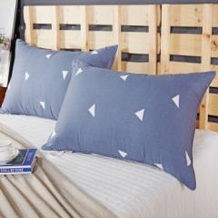 南极人(NanJiren)枕芯 高弹丝绒安睡枕头 单个装 灰色 BC.040