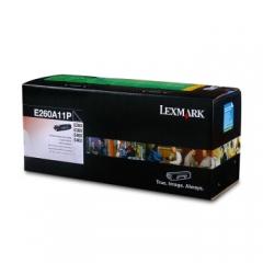 利盟(Lexmark) E260/360dn/d E460dn/dw E462dtn碳粉盒 黑色 标准容量E260A11P(约3500页)   HC.663