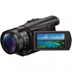 索尼(SONY)FDR-AX100E超高清4K数码摄像机 会议/家用高端DV (含64G卡+包+原装三脚架) ZX.244