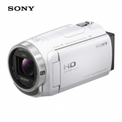 索尼(Sony)HDR-CX680 高清数码摄像机录像机(含64G卡+原装三脚架+包) ZX.246