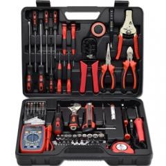 卡夫威尔 电讯工具箱 C9003A电子电工工具套装 63件套 JC.734