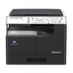 柯尼卡美能达 KONICA MINOLTA A3黑白数码复印机 bizhub 206 (单纸盒、盖板、工作台)  FY.102