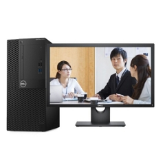 戴尔(DELL)OptiPlex 3050 Tower 001938台式计算机 /I5-7500/8G/1T/2G DVD刻录/DOS/21.5英寸显示器 PC.1510