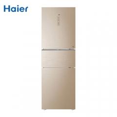 海尔(Haier)BCD-262WDGB 三门风冷无霜变频节能静音262升冰箱一级能效 DQ.1229