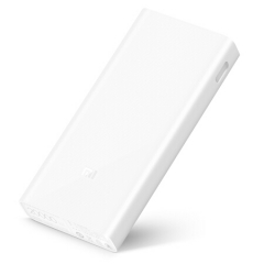 小米(MI)移动电源2C 20000毫安 移动电源2/大容量充电宝 双USB输出 双向快充 聚合物 适用于平板/手机     PJ.217