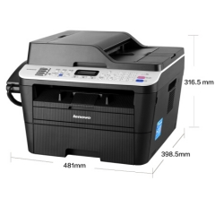 联想(Lenovo)M7655DHF 黑白激光一体机(打印 复印 扫描 传真) DY.203