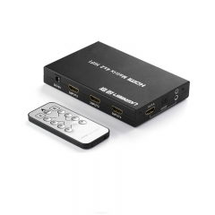 绿联HDMI矩阵切换器1080p高清切换器4进2出带遥控 40216  WL.222