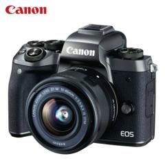 佳能 Canon/EOS M5 单反套机  (EF-M 15-45mm f/3.5-6.3 IS STM)机身+镜头 ZX.254