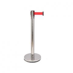 围栏栏杆座礼仪柱护栏杆警戒带隔离带安全线一米线 (单根价格) JC.766
