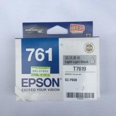 爱普生(EPSON)T7619墨盒 淡淡黑色 (适用P608机器)   HC.769