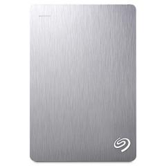 希捷(Seagate)4TB USB3.0移动硬盘 Backup Plus 睿品 2.5英寸 金属拉丝外壳 兼容mac 皓月银( STDR4000301)   PJ.233