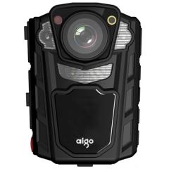 爱国者(aigo)DSJ-R2 现场记录仪 专业版 红外夜视高清便携加密激光定位录音录像拍照对讲执法取证 32G 黑色警版 ZX.259
