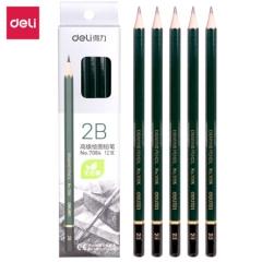 得力 7084 高级绘图铅笔 2B    BG.304
