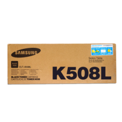 三星原装CLT-K508L硒鼓CMY适用三星CLP-620N CLP-620ND打印机墨粉盒碳粉盒 K508L 黑色硒鼓 约4000页   HC.792