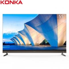 康佳(KONKA)LED55R2 55英 金属机身超薄悬浮屏电视 DQ.1270