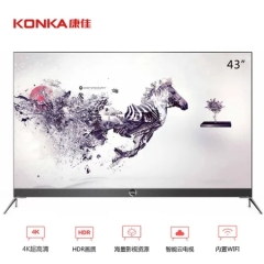 康佳(KONKA)LED43M2S 43英寸 4K超清电视 DQ.1272