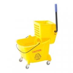 白云清洁(BAIYUN CLEANING)  24L榨水车拖把清洗桶压水车挤水车墩布车挤拖把  QJ. 187