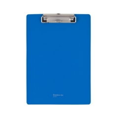 齐心(Comix) 板夹A4 文件夹 菜单夹 PP平板夹 蓝 A7041   XH.553