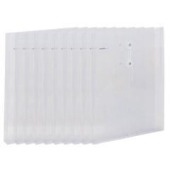 齐心(Comix) F118 文件袋资料袋档案袋绳扣式 A4白色   XH.558