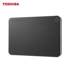 东芝(TOSHIBA)2TB USB3.0 移动硬盘 CANVIO Premium 2.5英寸 深灰色   PJ.253