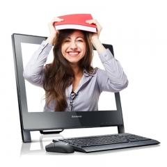 联想(Lenovo)启天A7400-D010 台式一体机 /i5-7500/4GB/1TB/集显/DVDRW/19.5英寸/DOS/三年保修   PC.1631