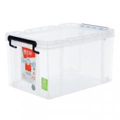 禧天龙Citylong 6069塑料收纳箱小号透明抗压加厚食品级材质整理箱玩具储物箱20L       QJ.192