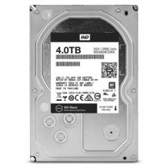 西部数据(WD)黑盘4TB SATA3接口 7200转128M台式机电脑 机械硬盘  WD4004FZWX   PJ.264