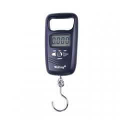 贝瑟斯 电子手提秤 厨房家用外出便携式迷你称重买菜买肉 行李秤快递秤50kg 带2节电池  CF.055