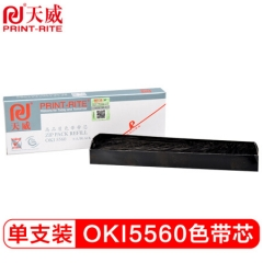 天威(PrintRite)OKI 5560 黑色带芯 适用OKI 5560/6500/5760 色带芯  HC.834
