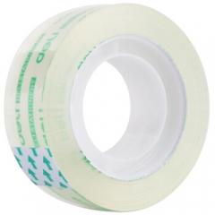 得力(deli) 学生文具胶带 小卷胶带 透明彩色胶布 办公用品 30061(18mm*14y )   XH.588