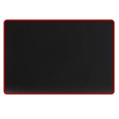 灵蛇 鼠标垫 游戏鼠标垫 电脑办公桌键盘垫大号 精密包边 防滑 可水洗 P02黑色  PJ.271