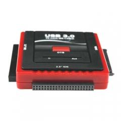北极闪电 硬盘光驱易驱线usb3.0转sata/ide串口并口老硬盘硬盘光驱3.5/2.5通用      PJ.272