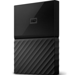 西部数据(WD)4TB USB3.0移动硬盘My Passport 2.5英寸 经典黑(硬件加密 自动备份)WDBYFT0040BBK    PJ.274