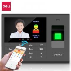 得力(deli)3765C   智能云考勤机 人脸/指纹/手机定位打卡机  IT.533