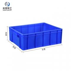 米奇特工(Agents mickey)加厚塑料周转箱 零件盒元件盒 收纳箱物料盒收纳盒 蓝色250mm*170mm*77mm   QJ.193