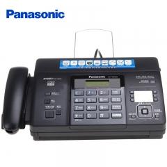 松下(Panasonic)KX-FT876CN 热敏纸复印传真机办公家用电话一体机中文显示(黑色)  IT.535