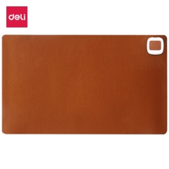 得力(deli)桌面发热垫发热鼠标垫 办公暖桌垫办公暖桌宝 棕色3690   PJ.285