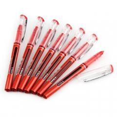 晨光 50901 签字笔 直液式 0.5mm 12支/盒 红色   XH.604
