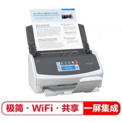 富士通(Fujitsu)ix1500扫描仪A4高速高清彩色双面自动馈纸WIFI无线传输智能扫描仪   IT.543