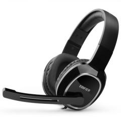 漫步者(EDIFIER)K815 头戴式立体声电脑耳麦办公教育 学习培训 黑色    PJ.291