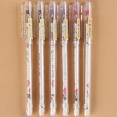 爱好纯之风极细中性笔 学生水笔 财会笔签字笔8653 黑色     XH.643