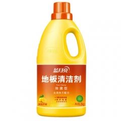 蓝月亮 地板清洁剂 除菌 光亮地板净2kg/瓶   QJ.196